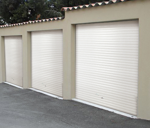 Porte de garage enroulable manuelle tirage direct tous for Porte de garage 60 mm
